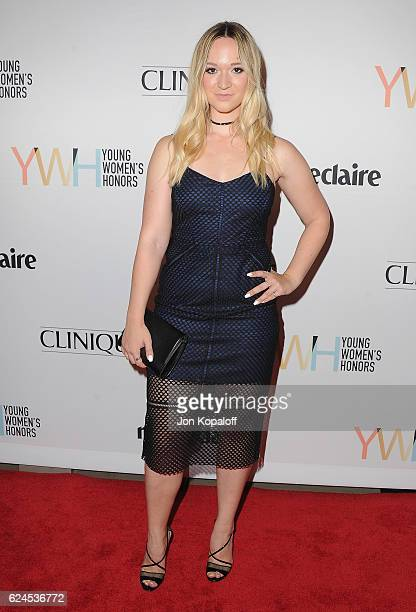 Social influencer Alisha Marie arrives at the 1st Annual Marie Claire Young Women's Honors at Marina del Rey Marriott on November 19 2016 in Marina...
