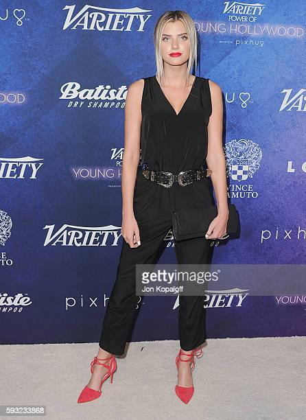 Social Influencer Alissa Violet arrives at Variety's Power Of Young Hollywood at NeueHouse Hollywood on August 16 2016 in Los Angeles California