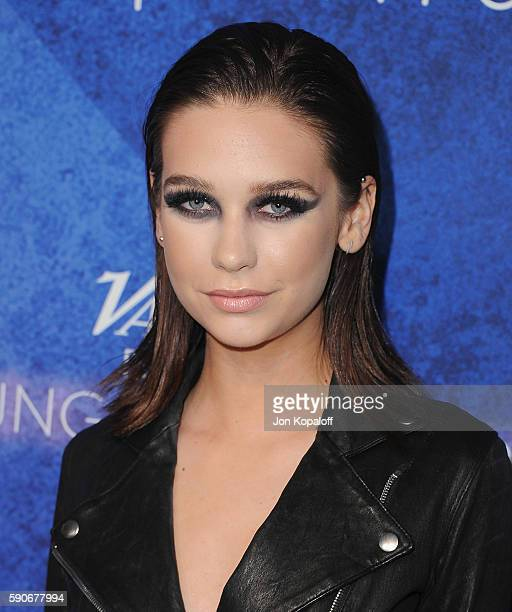 Social influencer Amanda Steele arrives at Variety's Power Of Young Hollywood at NeueHouse Hollywood on August 16 2016 in Los Angeles California
