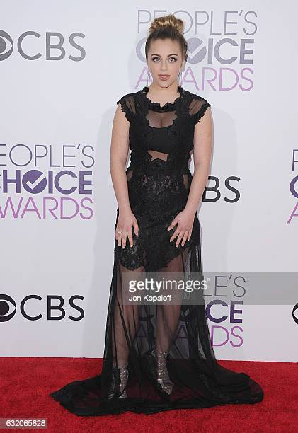 Social Influencer Baby Ariel arrives at the People's Choice Awards 2017 at Microsoft Theater on January 18 2017 in Los Angeles California