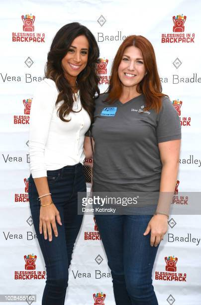 Social Influencer Danielle Jonas and Blessings in a Backpack Communications Manager Robin Rueff attend as Vera Bradley partners with Blessings In A...