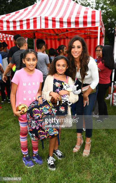 Social Influencer Danielle Jonas attends as Vera Bradley partners with Blessings In A Backpack to continue BackToSchool Philanthropy Tour with...