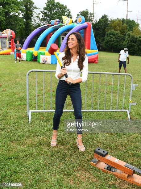 Social Influencer Danielle Jonas enjoys activities as she attends as Vera Bradley partners with Blessings In A Backpack to continue BackToSchool...