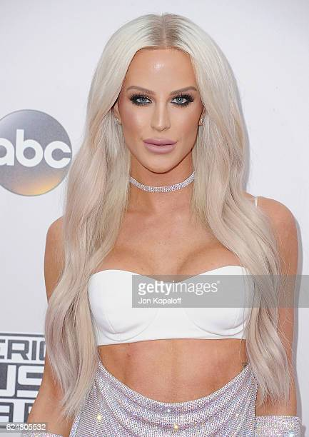 Social influencer Gigi Gorgeous arrives at the 2016 American Music Awards at Microsoft Theater on November 20 2016 in Los Angeles California
