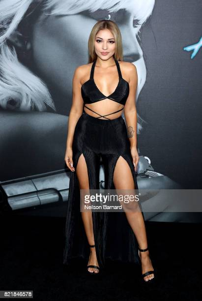 Social influencer Josephine Ochoa attends Focus Features' 'Atomic Blonde' premiere at The Theatre at Ace Hotel on July 24 2017 in Los Angeles...