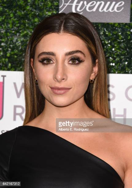 Social influencer Lauren Elizabeth attends WCRF's An Unforgettable Evening presented by Saks Fifth Avenue at the Beverly Wilshire Four Seasons Hotel...