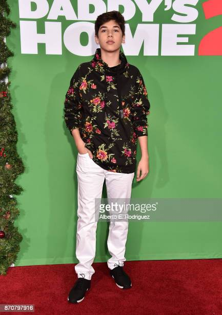 Social Influencer Mario Selman attends the premiere of Paramount Pictures' 'Daddy's Home 2' at The Regency Village Theatre on November 5 2017 in...