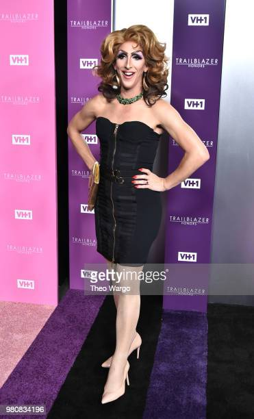 Social influencer music artist Marti Gould Cummings attends VH1 Trailblazer Honors 2018 at The Cathedral of St John the Divine on June 21 2018 in New...