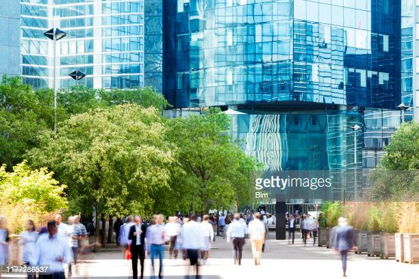 social issues and business life, la defense, paris, france - business community stock pictures, royalty-free photos & images