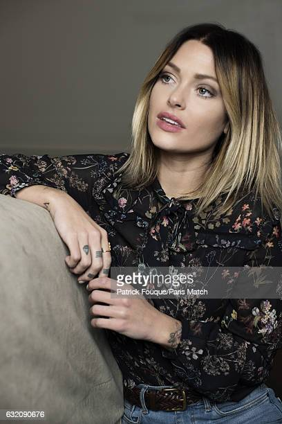 Social media blogger Caroline Receveur is photographed for Paris Match on December 6 2016 in Paris France