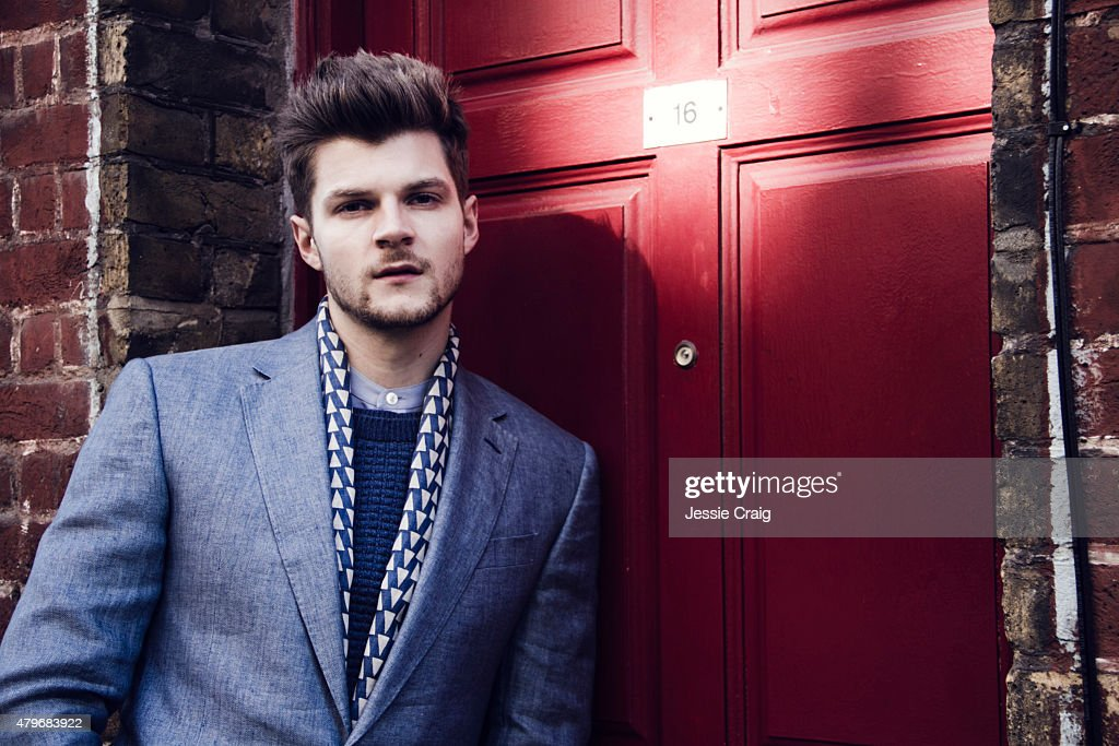 Social media blogger Jim Chapman is photographed for Article magazine on March 6, 2015 in London, England.