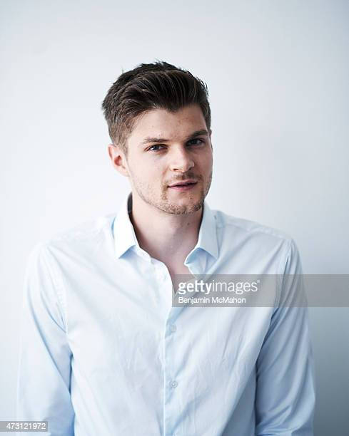 Social media blogger Jim Chapman is photographed for the Telegraph on July 29 2014 in London England
