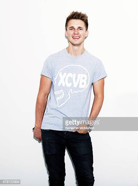 Social media blogger Marcus Butler is photographed for the Telegraph on July 29 2014 in London England
