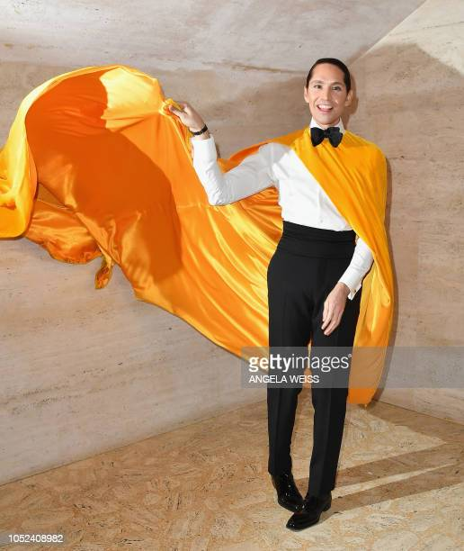 Social media celebrity Di Mondo attends the 2018 American Ballet Theater Fall Gala at David H Koch Theater on October 17 2018 in New York City