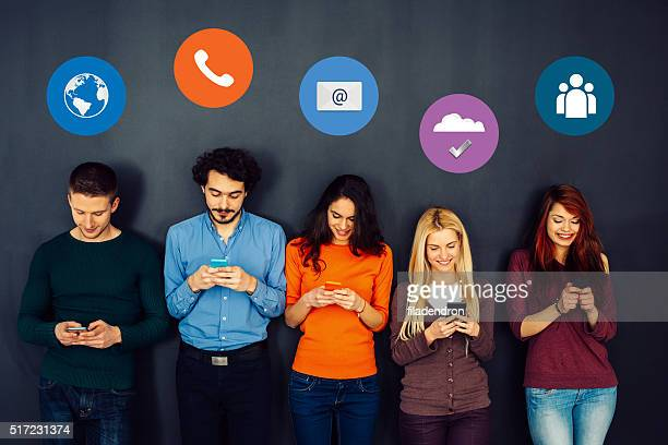 social media concept - media_(communication) stock pictures, royalty-free photos & images