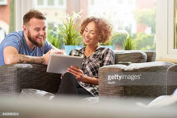 social media couple