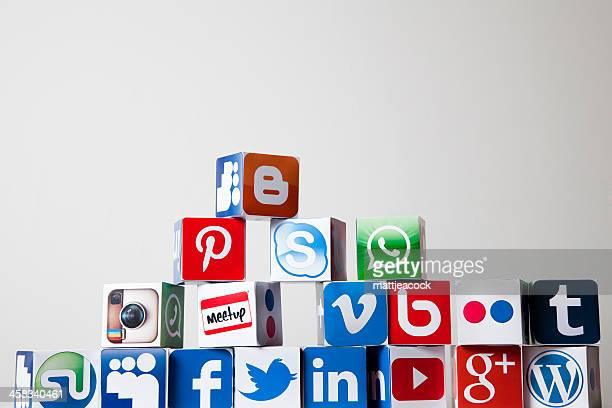 Social-media-Würfel