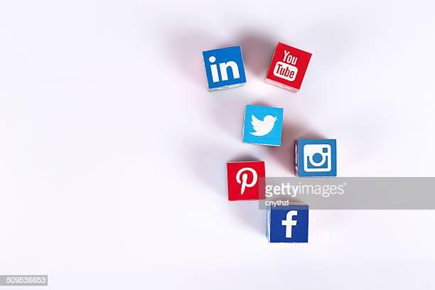 Médias sociaux de Cubes