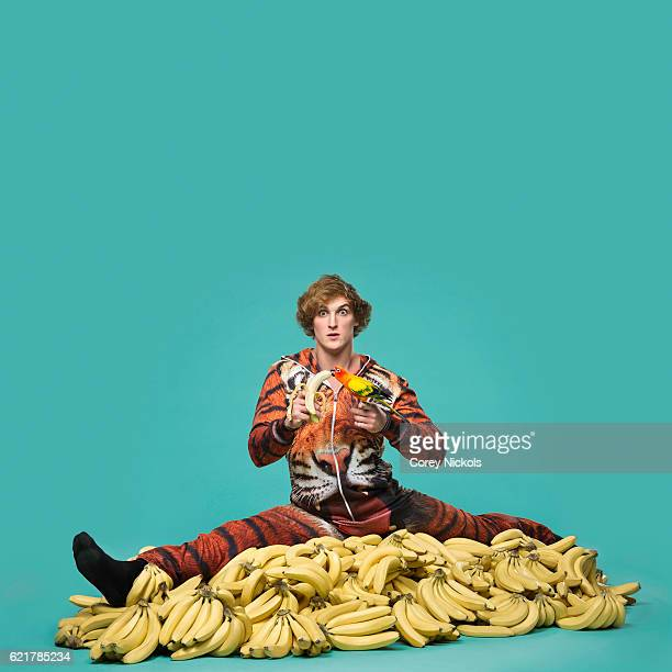 Social media entertainer and actor Logan Paul is photographed for Ad Week on January 8 2016 in Hollywood California