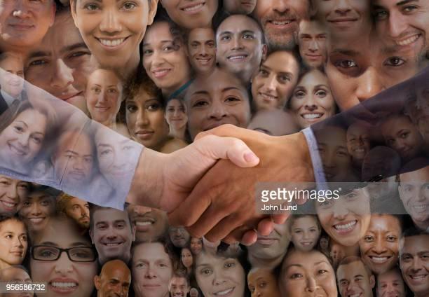 Social Media Handshake