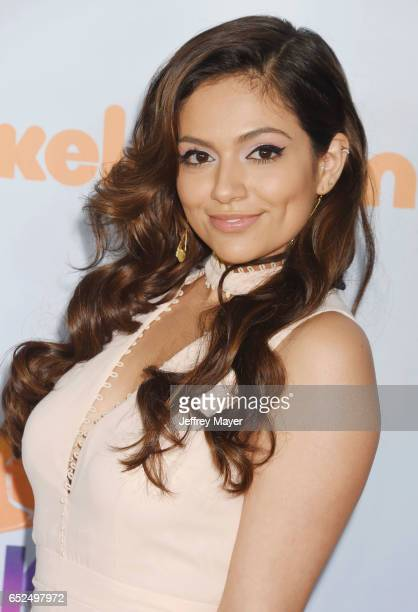 Social Media Influencer Bethany Mota arrives at the Nickelodeon's 2017 Kids' Choice Awards at USC Galen Center on March 11 2017 in Los Angeles...