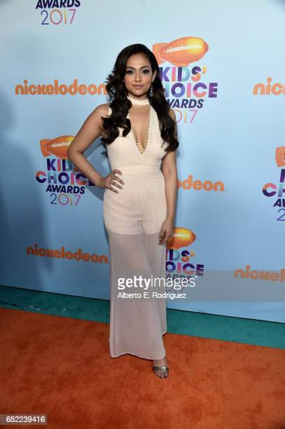 Social Media Influencer Bethany Mota at Nickelodeon's 2017 Kids' Choice Awards at USC Galen Center on March 11 2017 in Los Angeles California
