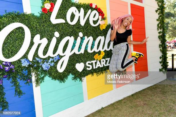 Social Media Influencer Khadi Don attends STARZ at Atlanta Pride 2018 at Piedmont Park on October 13 2018 in Atlanta Georgia
