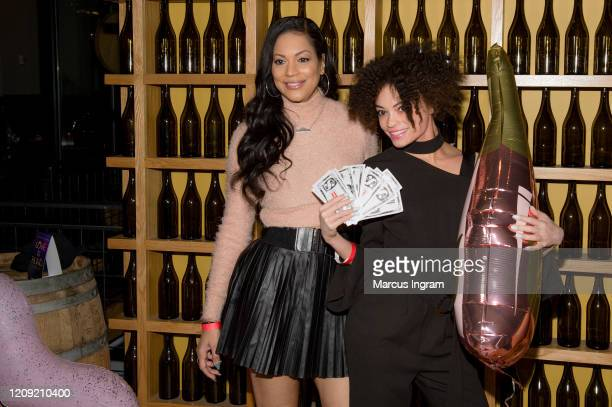 Social media influencers attend the Netflix's Love is Blind VIP viewing party at City Winery on February 27 2020 in Atlanta Georgia
