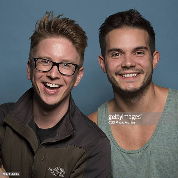 Social Media Influencers Tyler Oakley and Korey Kuhl on the 28th season of THE AMAZING RACE premieres Friday Feb 12 on the CBS Television Network