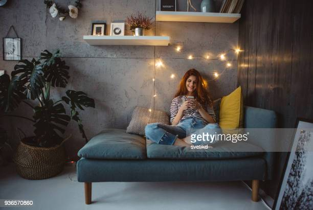 social media never sleeps - home sweet home stock pictures, royalty-free photos & images