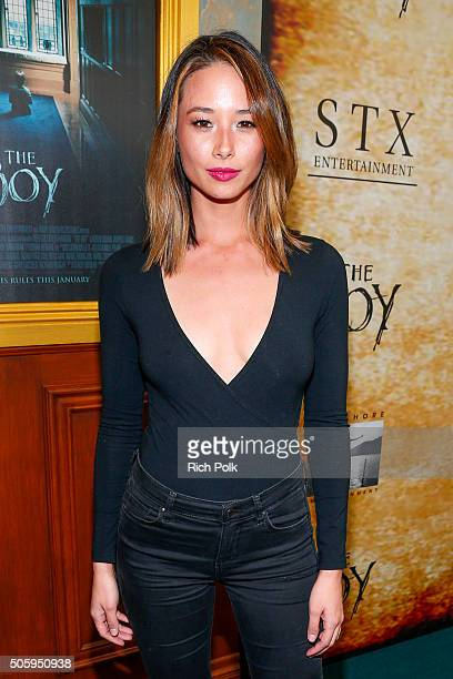 Social media personality Aja Dang arrives at the premiere Of STX Entertainment's 'The Boy' at Cinemark Playa Vista on January 20 2016 in Los Angeles...