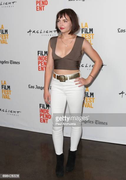 Social Media Personality Alexis G Zall attends premiere of Netflix's You Get Me at the 2017 Los Angeles Film Festival at the ArcLight Santa Monica on...