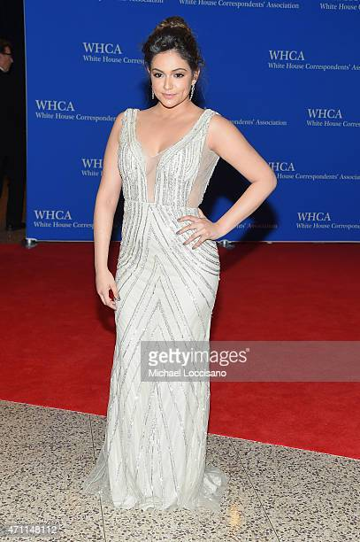 Social media personality Bethany Mota attends the 101st Annual White House Correspondents' Association Dinner at the Washington Hilton on April 25...