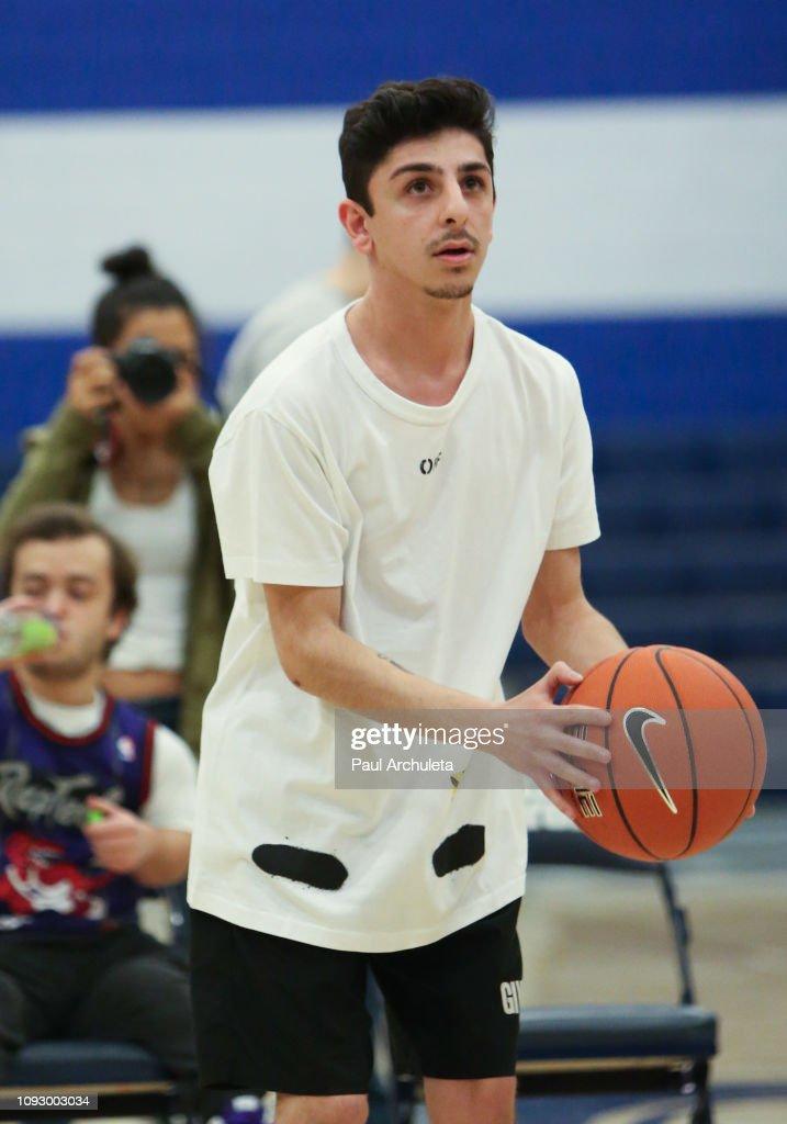 The Ace Family $100K Celebrity Basketball Shootout : News Photo