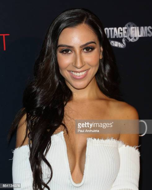 Social Media Personality Jessica Vanessa attends the premiere of Til Death Do Us Part at The Grove on September 25 2017 in Los Angeles California