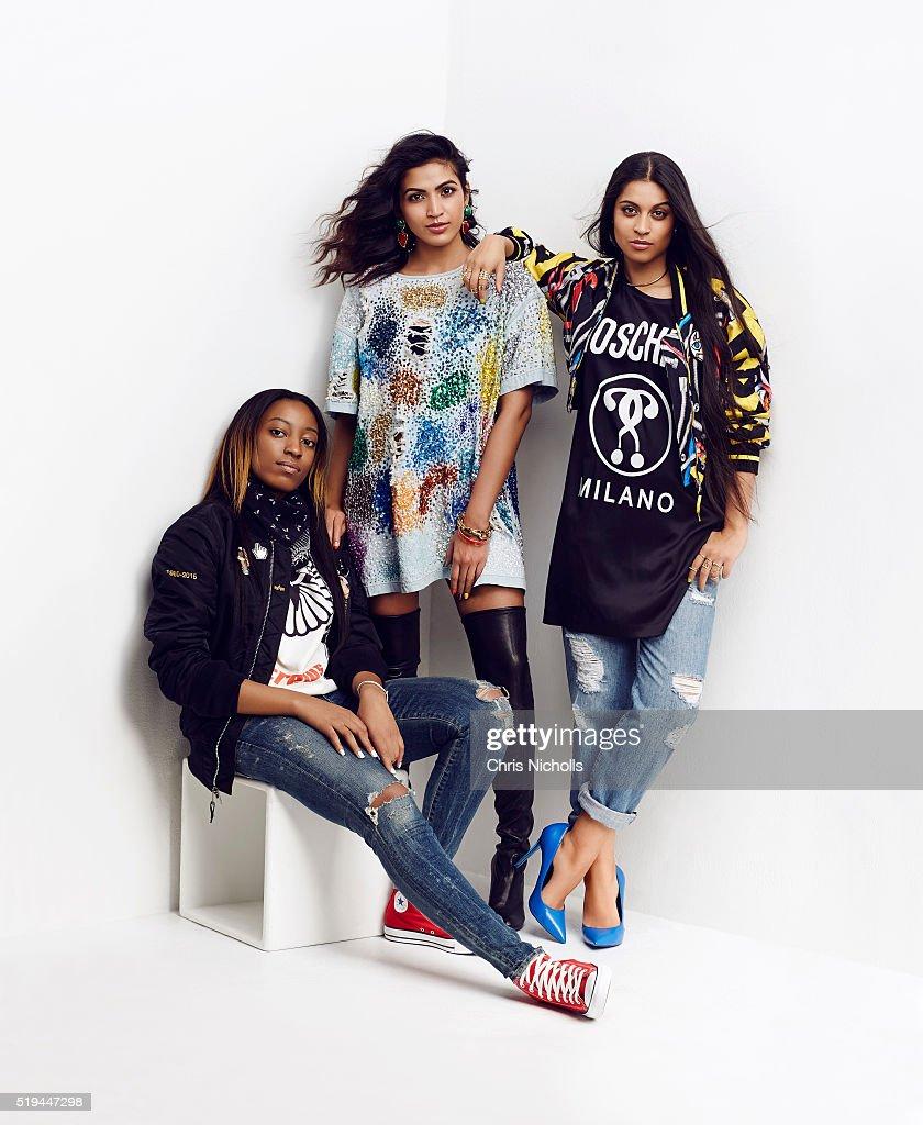 Lilly Singh, Ebony Oshunrinde, Maria Qamar, Elle Canada, March 1, 2016