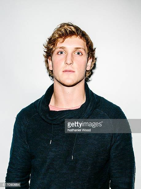 Social media personality Logan Paul is photographed for TeenVoguecom on March 13 2016 in Los Angeles California