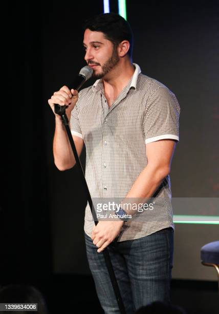 Social media personality Nick Paris performs at the Roosevelt Comedy Show at The Hollywood Roosevelt on September 10, 2021 in Los Angeles, California.