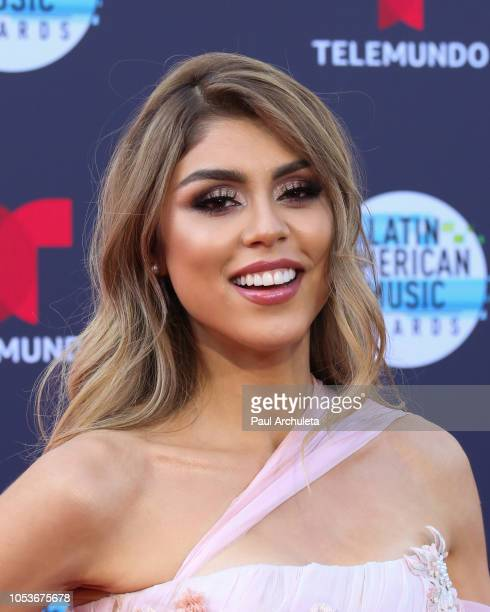 Social Media Personality Paula Galindo attends the 2018 Latin American Music Awards at Dolby Theatre on October 25 2018 in Hollywood California