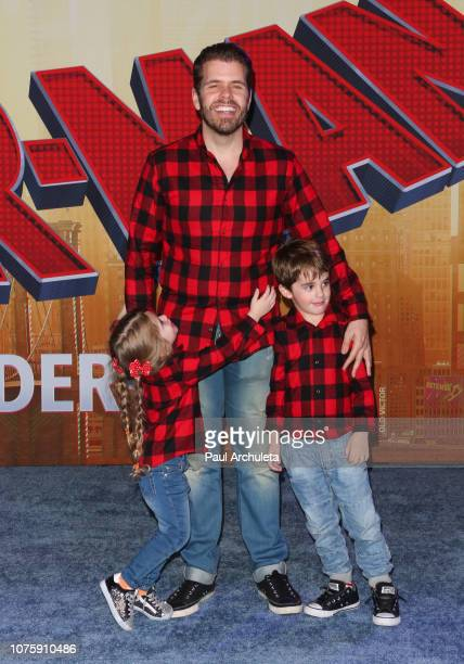 Social Media Personality Perez Hilton attends the world premiere of Sony Pictures Animation and Marvel's SpiderMan Into The SpiderVerse at The...