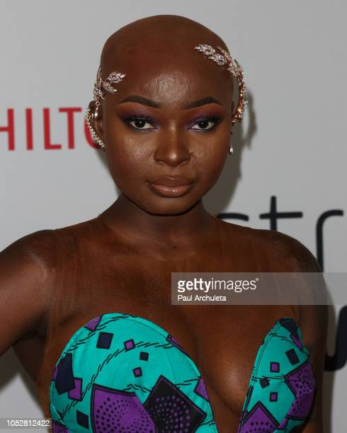Social Media Personality Shalom Blac attends the 8th Annual Streamy Awards at The Beverly Hilton Hotel on October 22 2018 in Beverly Hills California