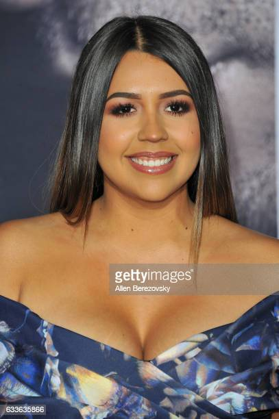 Social media personality Ydelays attends the Premiere of Universal Pictures' 'Fifty Shades Darker' at The Theatre at Ace Hotel on February 2 2017 in...