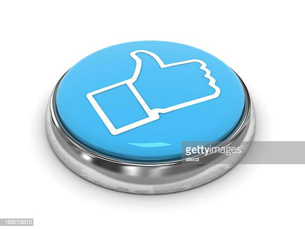 social media - like button stock photos and pictures
