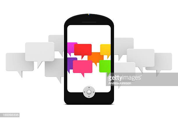social media - johnson_(community),_wisconsin stock pictures, royalty-free photos & images