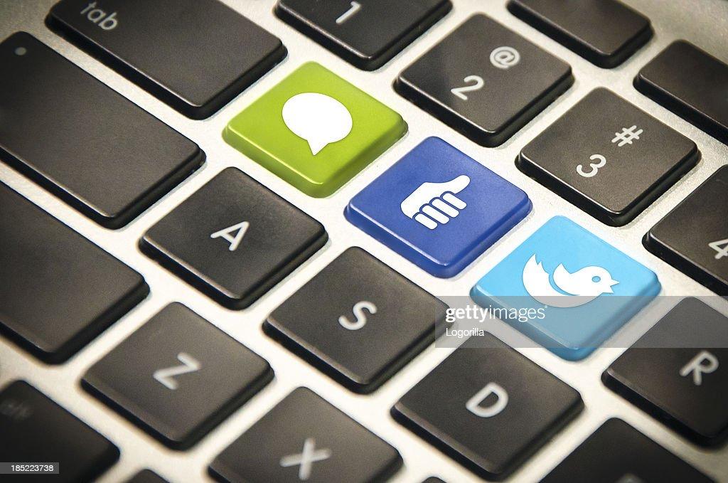 Social Media : Stock Photo