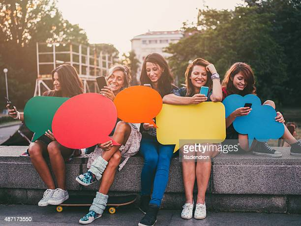 social media - quotation text stock photos and pictures