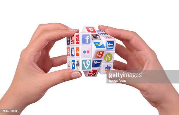 Rompecabezas de los medios sociales