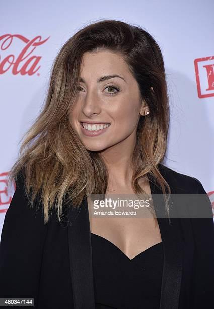 Social media star Lauren Elizabeth arrives at the premiere of AwesomenessTV's Expelled at Westwood Village Theatre on December 10 2014 in Westwood...
