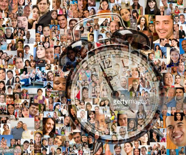 social media wake up alarm - demography stock pictures, royalty-free photos & images