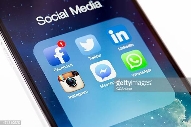 Social Network, facebook, twitter, linkedln, instagram, messenger, whatsapp